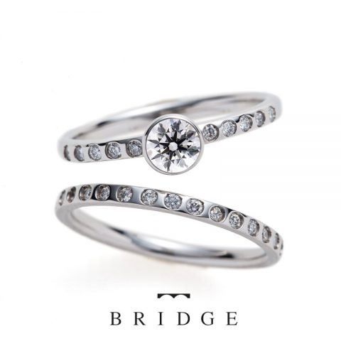 BRIDGE銀座 結婚指輪