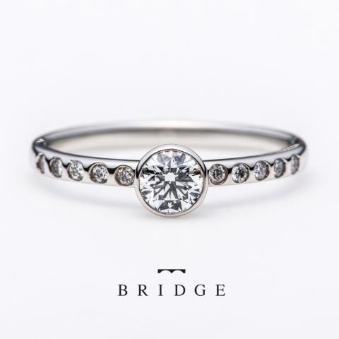 銀座の婚約指輪エンゲージリング